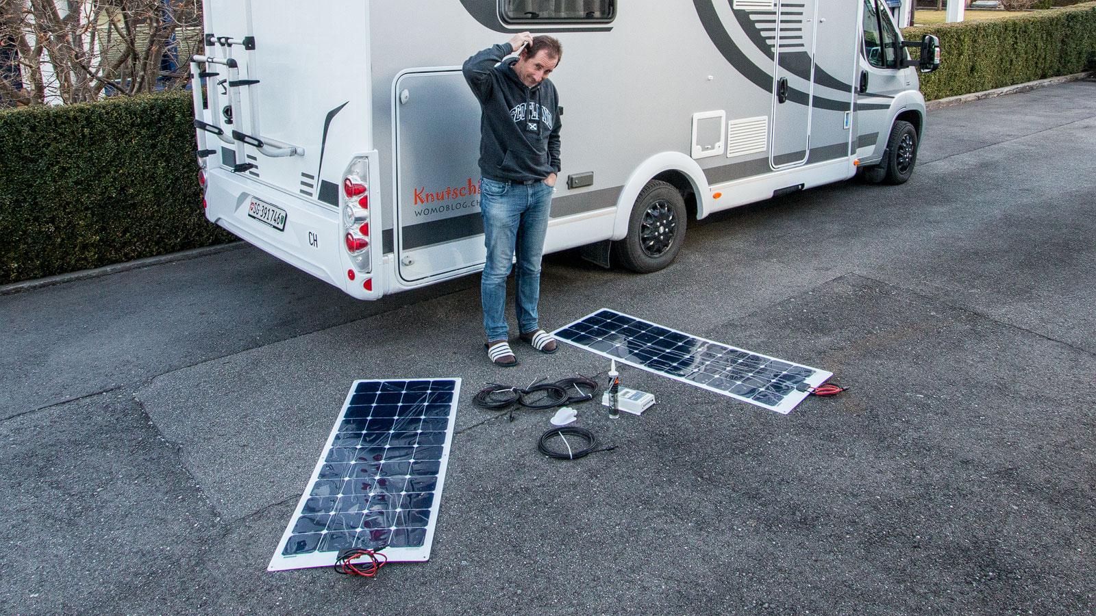 Gewicht Wohnmobil Solaranlage